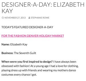 DESIGNER-A-DAY