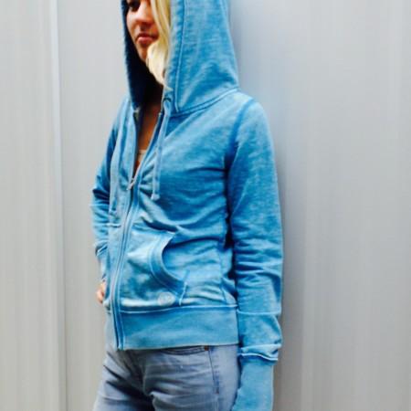 signature blue hoodie